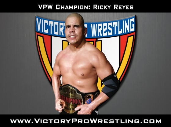 VPW Champion Ricky Reyes