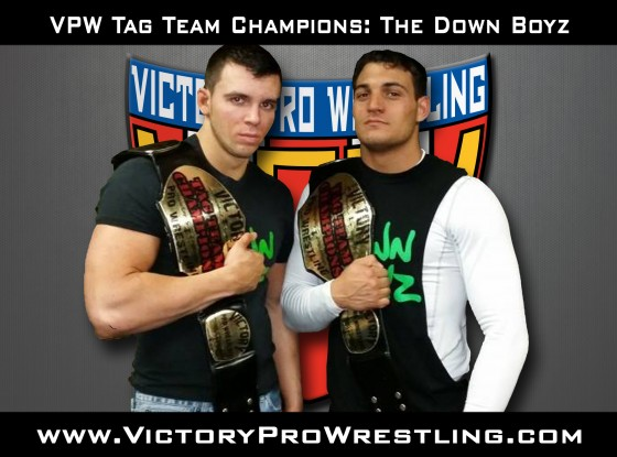 VPW Tag Team Champions The Down Boyz