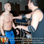 """K-Fresh"" Kevin Fulton keeps VsK from getting in the ring"