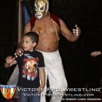 El Conquistador with 9-year old Niko