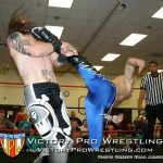 VsK attacking Kevin Tibbs after the match