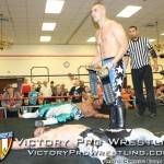 VsK stands over the fallen VPW champion