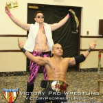 The VPW Tag Team Champions Ricky Reyes and EJ Risk