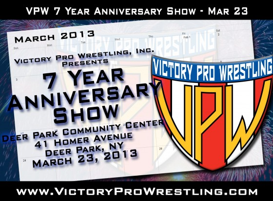 Victory Pro Wrestling presents The 7-Year Anniversary Show
