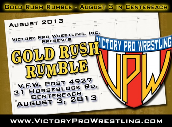 VPW Presents the Gold Rush Rumble Saturday August 3 in Centereach
