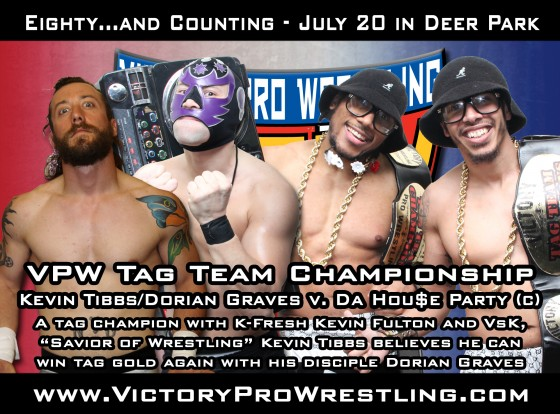 Tibbs and Graves challenge Da Hou$e Party for the VPW Tag Team Championships