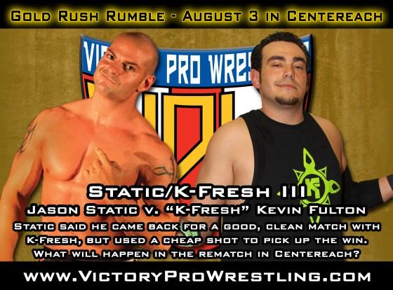 Static/K-Fresh III at the Gold Rush Rumble