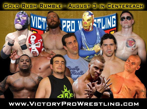 The Gold Rush Rumble: VPW's most unpredictable match