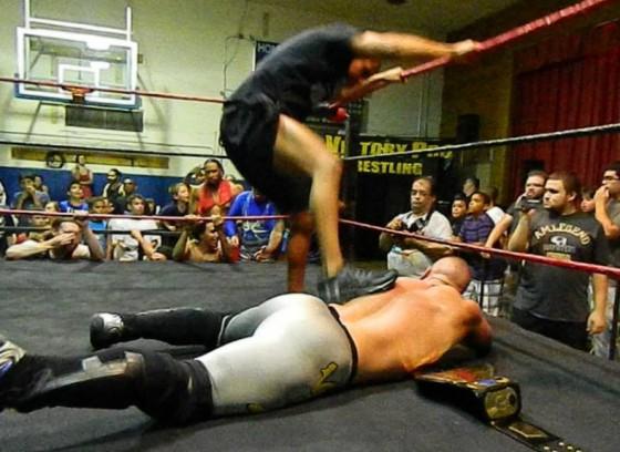 Ricky Reyes attacks VsK