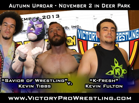 Kevin Tibbs against K-Fresh Kevin Fulton