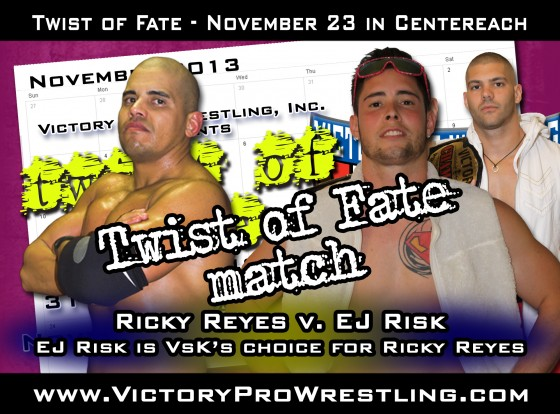 Ricky Reyes against EJ Risk at Twist of Fate