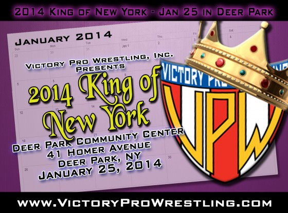 2014 King of New York January 25, 2014 in Deer Park