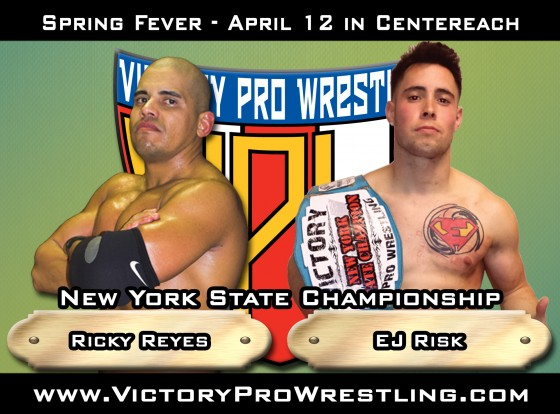 Spring Fever 2014 - Ricky Reyes against EJ Risk for the New York State Championship