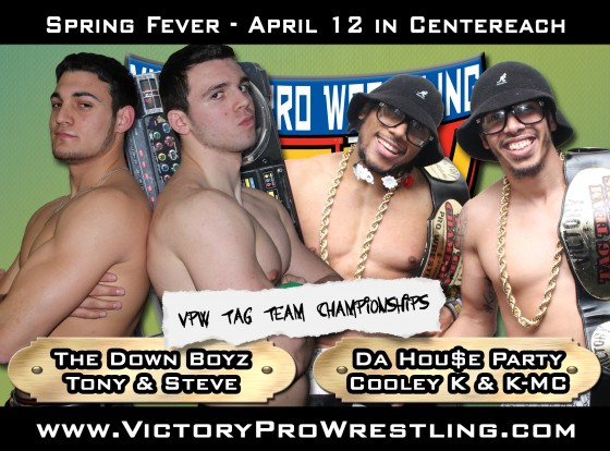 Spring Fever 2014 - The Down Boyz against Da Hou$e Party for the VPW Tag Team Championships