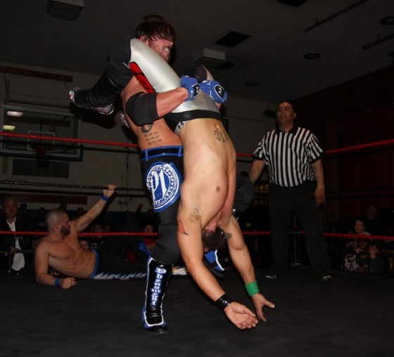 AJ Styles sets up the Styles Clash on Kevin Tibbs