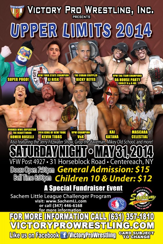 VPW presents Upper Limits 2014 in Centereach