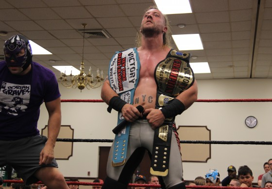VPW and New York State champion Kevin Tibbs