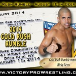 Reyes sets sights on Gold Rush Rumble