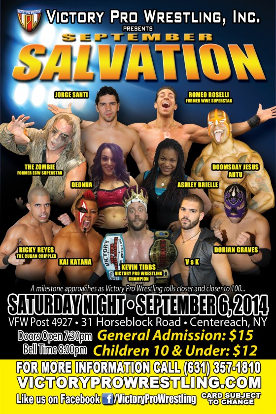 VPW presents Salvation in Centereach