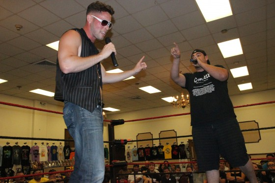 New VPW Commish EJ Risk goes at it with Kevin Fulton