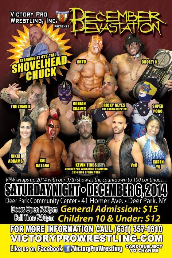 VPW presents December Devastation in Deer Park