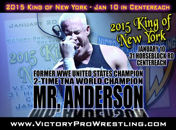 Mr Anderson comes to Centereach for the 2015 King of New York