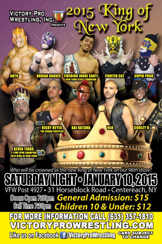 VPW presents 2015 King of New York