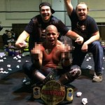 Ricky Reyes after winning the VPW Championship