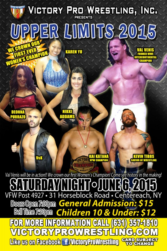 VPW presents Upper Limits 2015