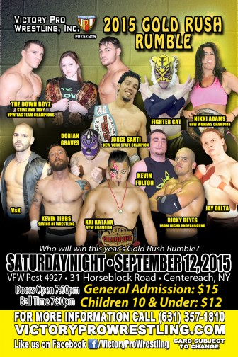 VPW presents The Gold Rush Rumble