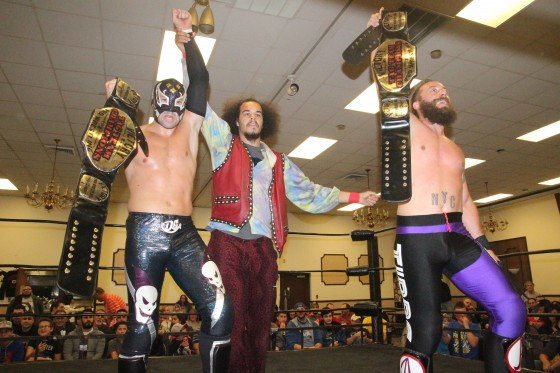 Church of Tibbs defeats Down Boyz to win VPW Tag Titles