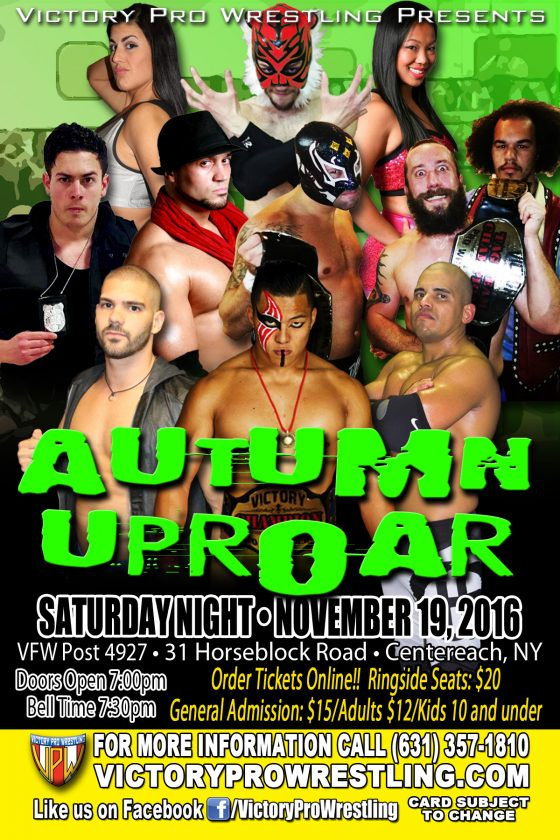 VPW presents Autumn Uproar