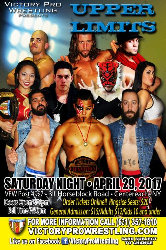 VPW presents Upper Limits April 29