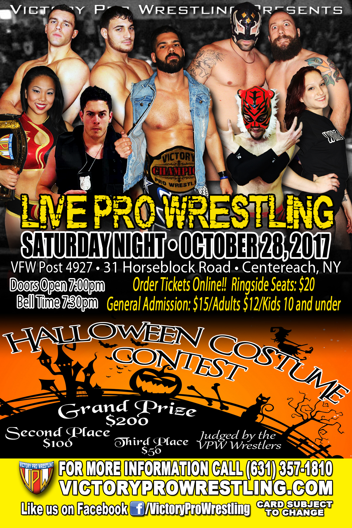 VPW presents Live Pro Wrestling October 28