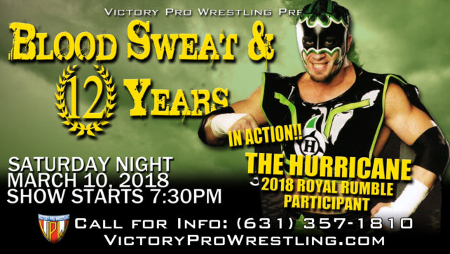 Tickets are on sale now for Blood Sweat & 12 Years featuring The Hurricane!