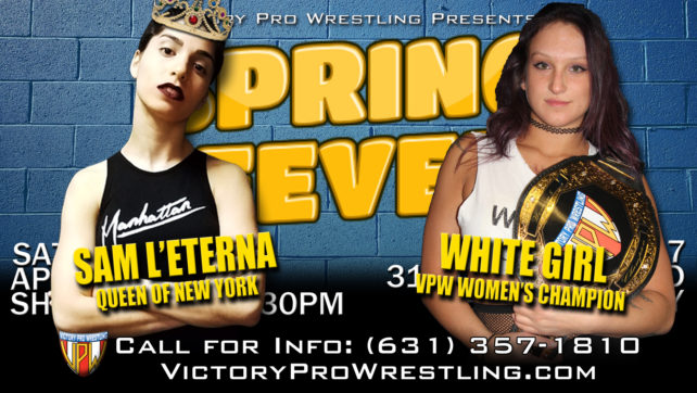 Will the Queen finally face the Champ? L'Eterna scheduled to face White Girl at Spring Fever