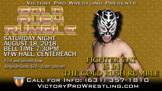 Tickets on sale for the Gold Rush Rumble – August 18