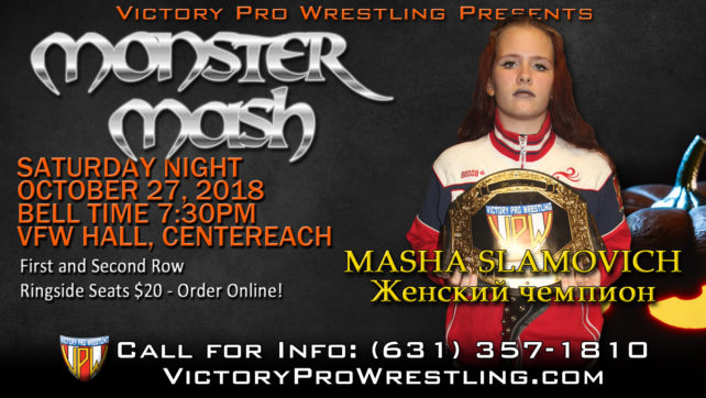 What's next for the new VPW Women's Champion Masha Slamovich?