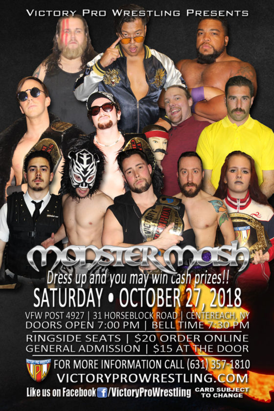 VPW presents Monster Mash, October 27