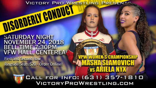 Will becoming the new VPW Women's Champion be the answers to Ariela Nyx's prayers?