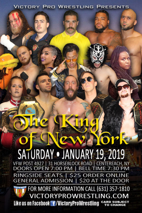 VPW presents The King of New York 2018