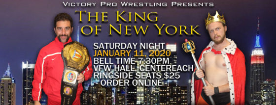 VPW presents The King of New York 2020 January 11, 2020