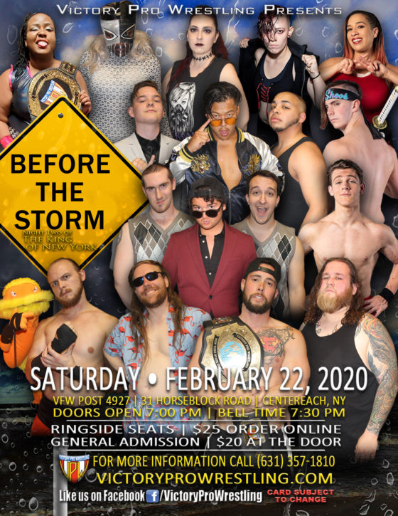 VPW presents Before the Storm February 22, 2020