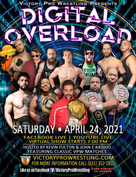 VPW Presents DIGITAL OVERLOAD April 24, 2021